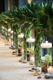 Bamboo table setting