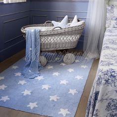 Alfombra Estrellas Blancas Lorena Canals - Donurmy.es