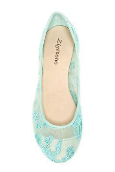 ZIGI Haylynn Lace Ballet Flat by ZIGI on @nordstrom_rack