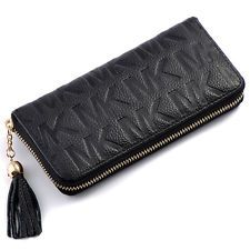 SALE 6% (7.52$) 2016 Fashion Women Letter long Wallets Purse Large ZIP handbag Genuine Leather