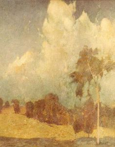 Emil Carlsen Landscape, c.1907   Learn about artist Emil Carlsen at http://emilcarlsen.org