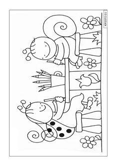 Bogyó és Babóca kifestők és színezők. Nyomtatható kifestők. Colouring Pages, Book Activities, Kids And Parenting, Kids Learning, Summer Fun, Kids Rugs, Printables, Crafty, Painting