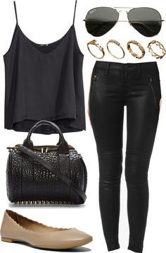 cami outfit for going out. Night time