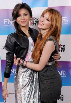 bella thorne best friends photos | Zendaya and Bella Thorne - The Best-Dressed Celeb Friends | OK ...