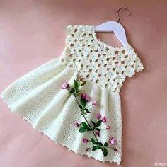 Crochet Dress -My Mode-Kids Clothes