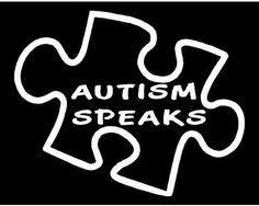 "Autism Awareness Autism Speaks Vinyl Decal Sticker|WHITE|Cars Trucks Vans SUV Laptops Wall Art|5.5"" X 5""