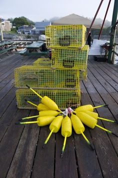 Maine lobster traps! Go get 'em #JoesCrabShack! #JoesMaineEvent
