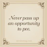 Haha best advice ever!!