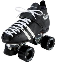 Riedell 265 Ronin skates with Outdoor quad roller skate wheels from Riedell. Quad skates that last! Speed Roller Skates, Outdoor Roller Skates, Roller Skate Wheels, Quad Skates, Speed Skates, Derby Skates, Riedell Roller Skates, Pink Wheels, Black Wheels