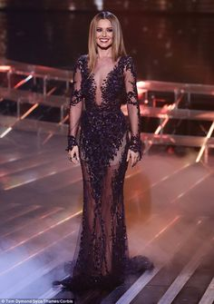 Cheryl at The X Factor Halloween special in November 2014