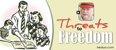 Are there threats to our freedom to #homeschool? Watch this with Rob Shearer! via hedua.com
