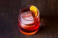 The Negroni- A classic done right.