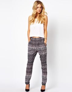 Vila | Vila Ikat Pants at ASOS