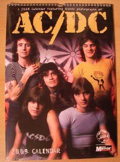 AC/DC kalendars