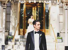 One Couple's Classic Cream-and-Blush Wedding at the Willard Hotel in Washington, DC