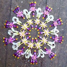 #love this #happy floral mandala + would love to create one soon!