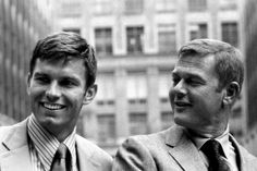 Kent and Marty - in New York 70s Tv Shows, Old Shows, Movies And Tv Shows, Martin Milner, Randolph Mantooth, Adam 12, Los Angeles Police Department, Favorite Tv Shows, Favorite Things