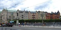 Strandvågen Stockholm, Street View