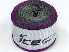Cotton Knitting Yarn Australia : Yarn cakes cotton fine turquoise purple fuchsia at ice