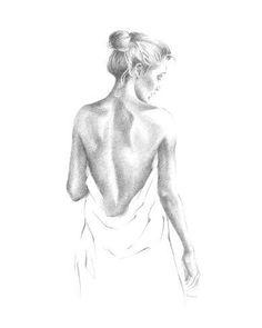 Back Drawing, Life Drawing, Figure Drawing, Dancer Drawing, Pencil Art Drawings, Art Drawings Sketches, Portrait Sketches, Body Sketches, Sketches Of Love