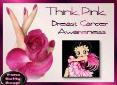 Pink rose & Betty Boop *FOBB