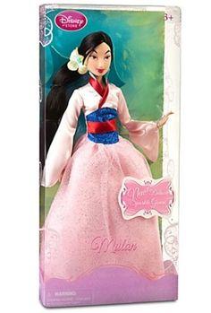 """AmazonSmile: Disney Princess Mulan Doll -- 12"""" H: Toys & Games"""