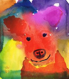 Emil Nolde My Dog