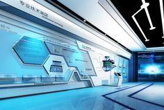 原创作品:有关芯片的展厅