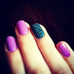 #nailart #essie #nails #leopard
