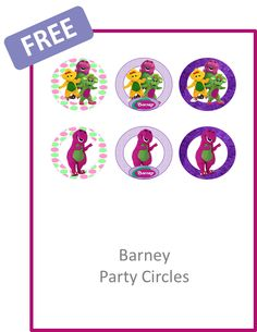 barney party circles