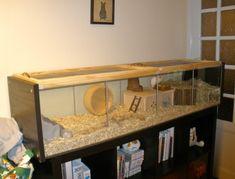 IKEA Detolf #DIY Hamster Cage | HamsterHideout.com