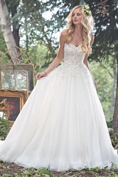 Popular Maggie Sottero Wedding Dress Spring MW Cameron view