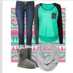Great school outfit love everything except the shoes...I would go with combat boots
