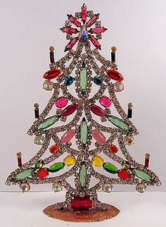 "Beautiful Czech hand made Christmas tree decoration SIGNED ""TABOO"" N 251"