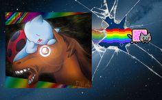 Cat Bug vs Nyan Cat - Dubstep Remix DJ Jay-Kay