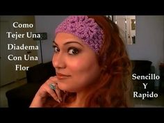 How To Crochet Head Band Video Tutorial in English Link http://www.youtube.com/watch?v=4kl43U1nD2c&feature=share&list=PL669561828CFC1C29 Hola!!! Feliz Doming...