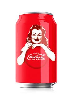 cool coca cola cans | Bulletproof designed Coca-Cola cans featuring cans Varga girls for ...