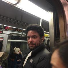Hello Stranger!!! He he heeeeee #bff #rtrain #nyc