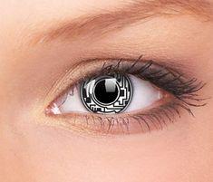Des lentilles de contact originales