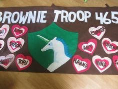 Cute Troop Banner like the emblem in the middle