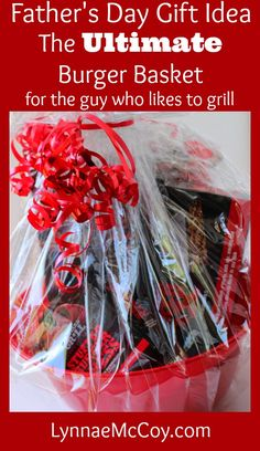 Ultimate Burger Gift Basket for Father's Day