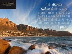 Cape Town | The Atlantic Seaboard Table Mountain, True Beauty, Cape Town, Africa, Camping, Island, City, Beach, Water