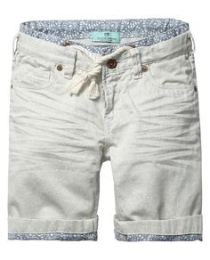 Scotch & Soda - Amsterdam Couture - Clothing, Fashion and Bermudas Shorts, Chino Shorts, Casual Shorts, Baby Boy Dress, Toddler Pants, Men Trousers, Camisa Polo, Denim Jeans Men, Blazers For Men