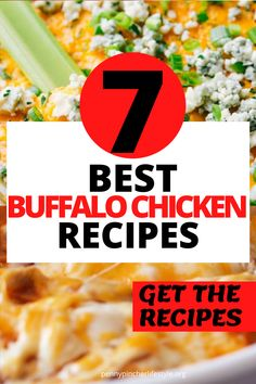 Buffalo Chicken Dip - The Best Ever - These easy buffalo chicken dip recipes tastes incredibly delicious! Makes the perfect appetizer to bring to any cookout, holiday party or family gathering! The best and easiest party appetizers to make any party a success! Easy make-ahead party appetizer recipes to feed a crowd! #dips #diprecipes #buffalochicken #buffalochickendip #appetizers #appetizerrecipes #crockpot #crockpotrecipes #crockpotappetizers #recipes #buffalochickendip #buffalodip… Best Party Appetizers, Best Appetizer Recipes, Cold Appetizers, Dip Recipes, Buffalo Chicken Dip Recipe, Beer Chicken, Chicken Dips, Healthy Chicken Recipes, The Best