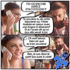 Funny picture, funny picture and funny videos to discover on VDR - Sellers of dreams. Discover the best pictures and funny pictures of the web! Funny True Quotes, Stupid Funny Memes, Hilarious, Funny French, Massage, Meme Comics, App, Anime Manga, I Laughed