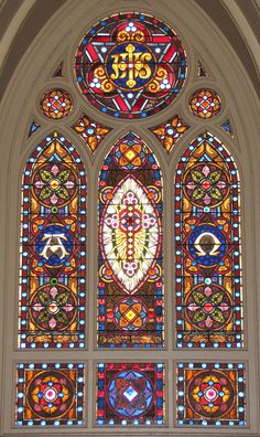 Christianity: A Systematic Defense Stained Glass Church, Stained Glass Art, Stained Glass Windows, Cathedral Windows, Church Windows, Cathedral Church, Holy Cross, Beautiful Buildings, Pretty Pictures