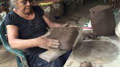 Platos de barro con doña Marta