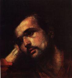 Nicolae Grigorescu  - Barbat ganditor