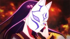 Sousei no Onmyouji benio anime Sousei No Onmyouji Benio, Kitsune Maske, Manga Art, Manga Anime, Adashino Benio, Hotarubi No Mori, Twin Star Exorcist, Exorcist Anime, Mask Girl