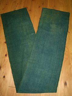 Vintage Japanese Blue Green Faded Cotton Boro Folk by oldtextile